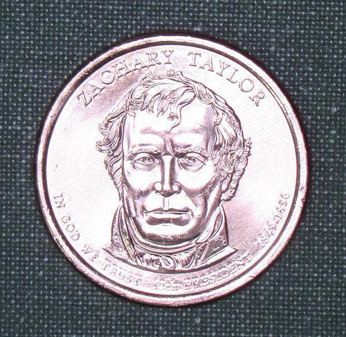 MS Zachary Taylor dollar