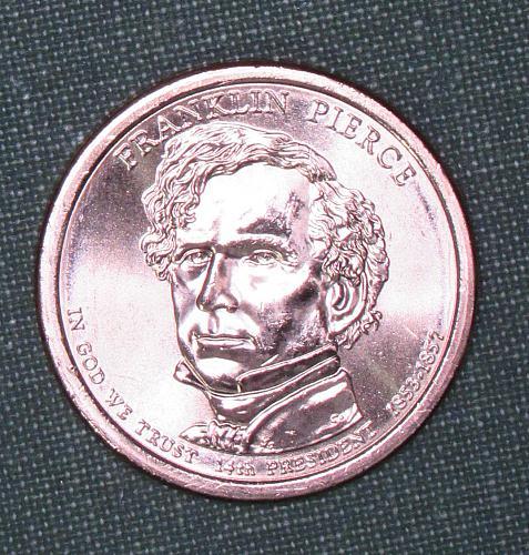 MS 2010D Franklin Pierce dollar