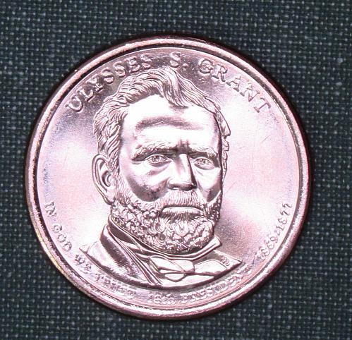 MS 2011D  Ulysses S Grant dollar