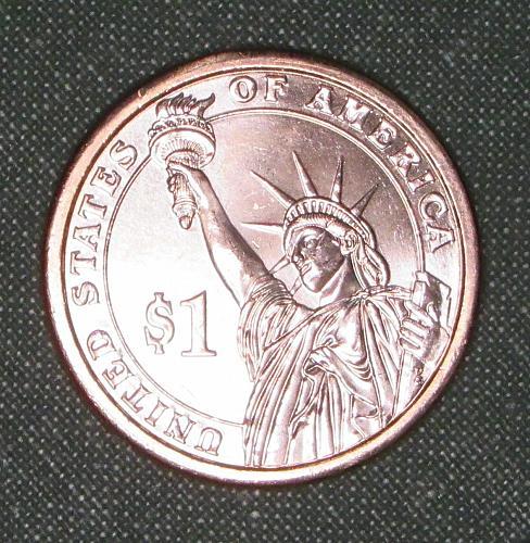 MS 2011D James A Garfield dollar