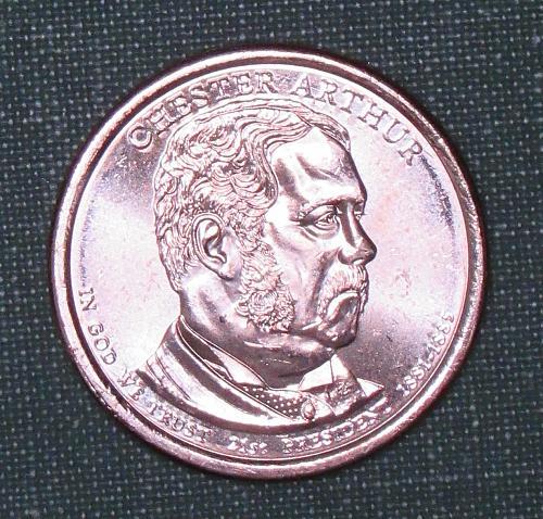 MS 2012D Chester Arthur dollar