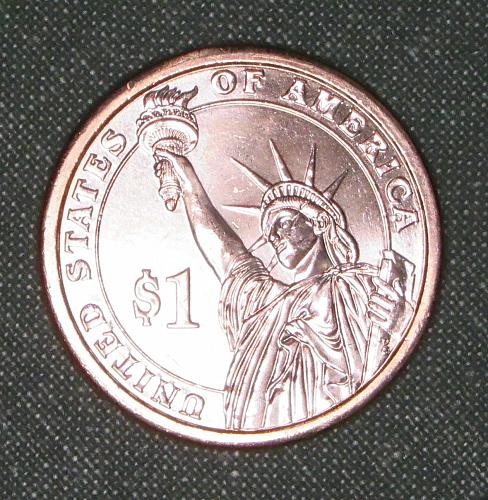 MS 2012D Grover Cleveland 1st term dollar