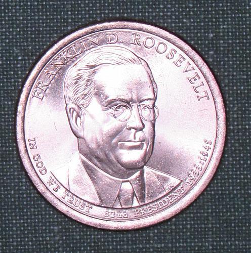 MS 2014D Franklin D. Roosevelt dollar