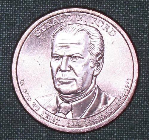 2016P Gerald Ford Dollar