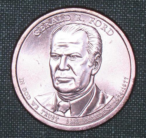 MS 2016D Gerald R. Ford dollar