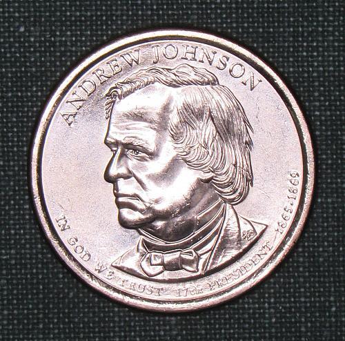 MS 2011D Andrew Johnson dollar