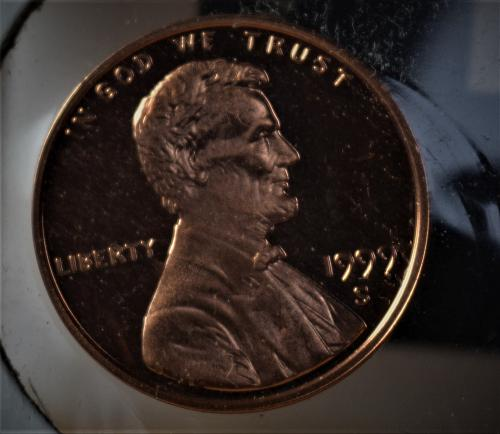 1999 S Lincoln Memorial Cent Proof CAMEO