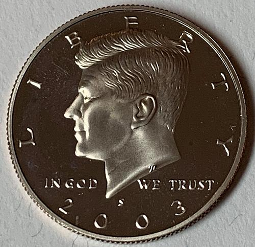 2003-S Proof Kennedy Half Dollar [IKS 42]