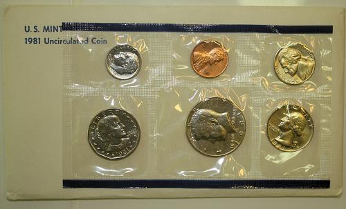 1981 P-D-S US Mint Set