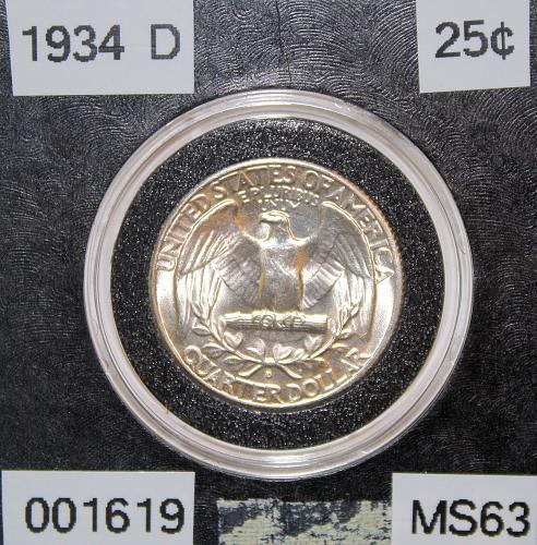 1934 D Washington Quarter ***Key Date***
