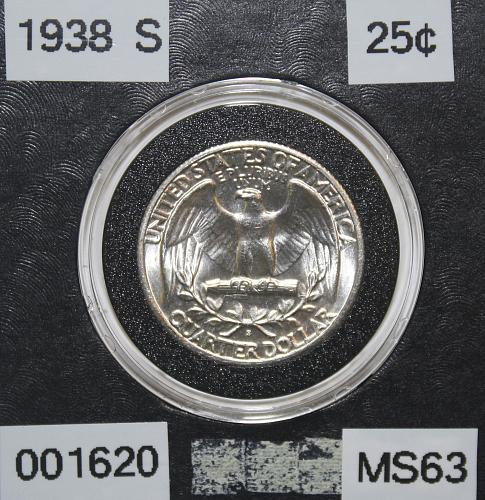 1938 S Washington Quarter ***Semi-Key Date***