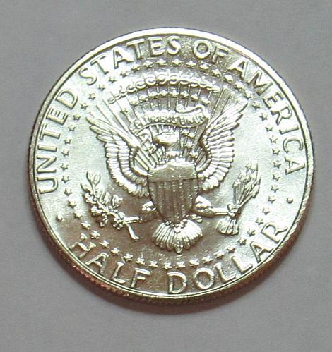 1998 D Kennedy Half Dollar in BU condition