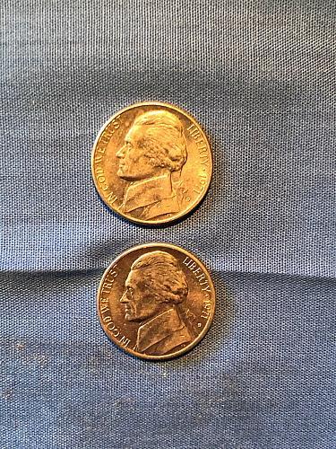 Jefferson Nickel 1971-D  x2