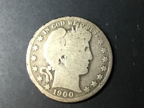 1900 O Barber Half Dollar - We combine shipping!
