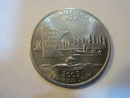 2005 D  Minnesota Washington Quarter