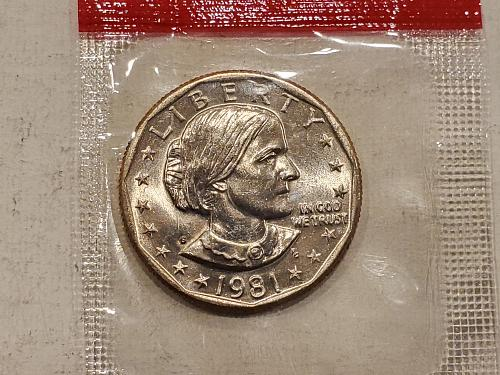 Susan B Anthony S Mint Dollar