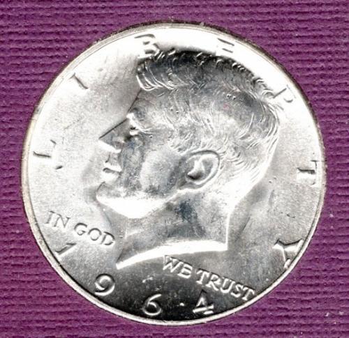 1964 P Kennedy Half Dollars -1