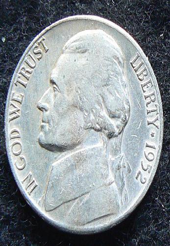 1952 S Jefferson Nickel (VF-20)