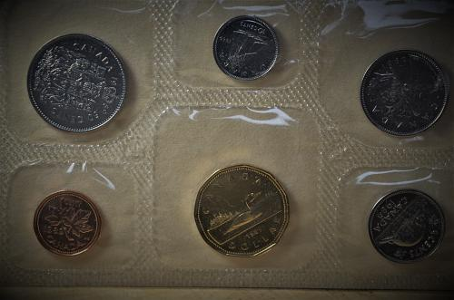 1989 Canada Uncirculated Prooflike Year Set