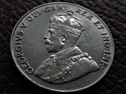 1929 Five Cents Nickel Canada Canadian