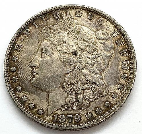 1879 Morgan Dollar - Cleaned