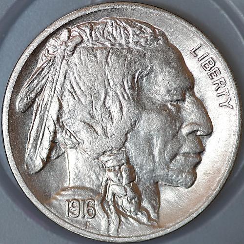Superb - 1916 S Buffalo Nickel - Gem BU / MS / UNC - High Grade Coin