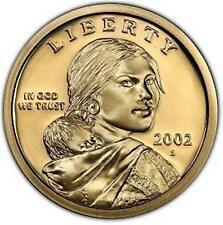 2002   S  PROOF  SACAGAWEA  GOLDEN DOLLAR