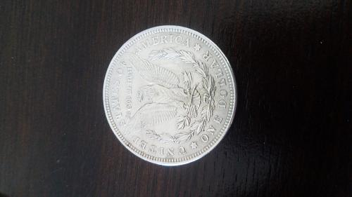 "1921 Morgan Silver Dollar and Still Looking Excellent "" Look It Over"""