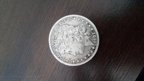 1901 O Morgan Dollar very good condition