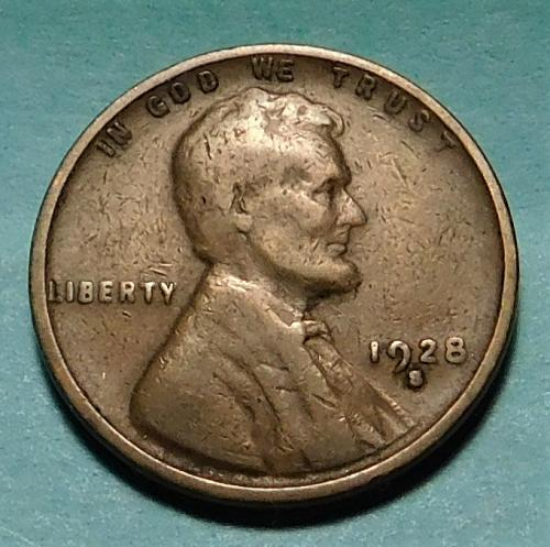 1928 S Lincoln Wheat Cent