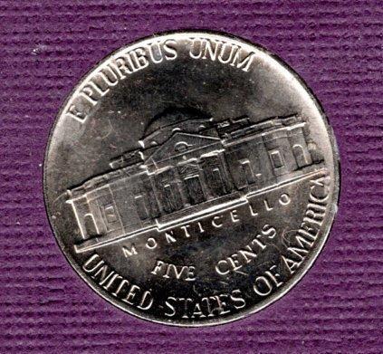1981 D Jefferson Nickels -5