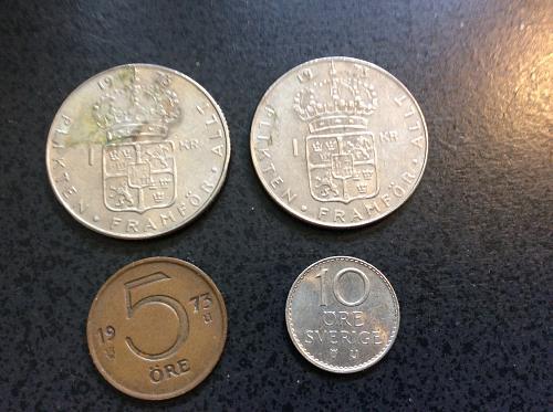 Sweden Coin Lot