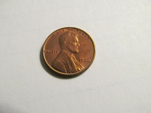 1960 Small Date Lincoln Cent