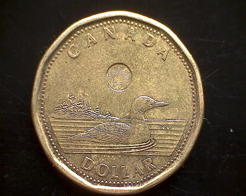 "2013 CANADA ONE DOLLAR QUEEN ELIZABETH 11  ""LOON"""