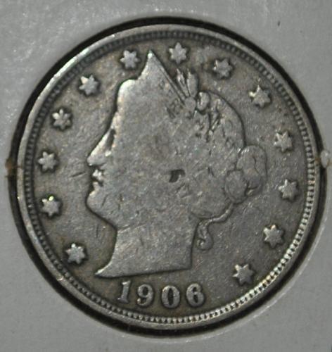 1906 P Liberty Nickel
