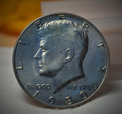 1980 P Kennedy Half Dollar BU