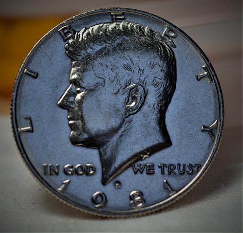1981 P Kennedy Half Dollar BU