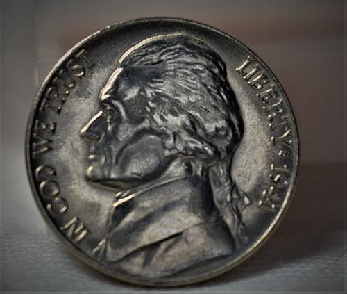 1941 Jefferson Nickel BU - with steps!!!