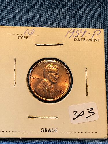 Lincoln Cent 1959-P