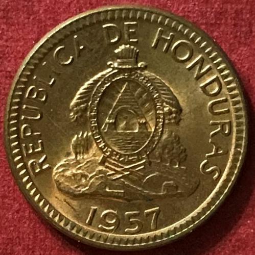 Honduras 1957 - 1 Centavo [#2]