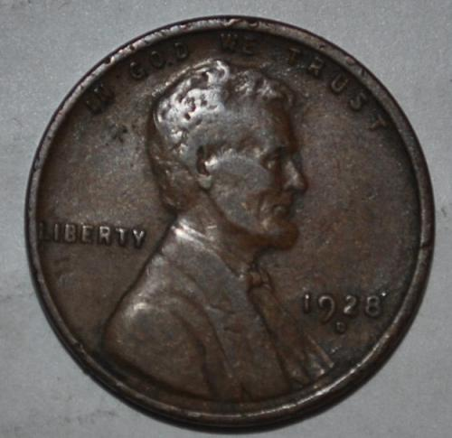 1928 D Lincoln Wheat Cent Small Cent