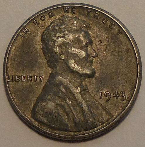 1943-P Lincoln Cent