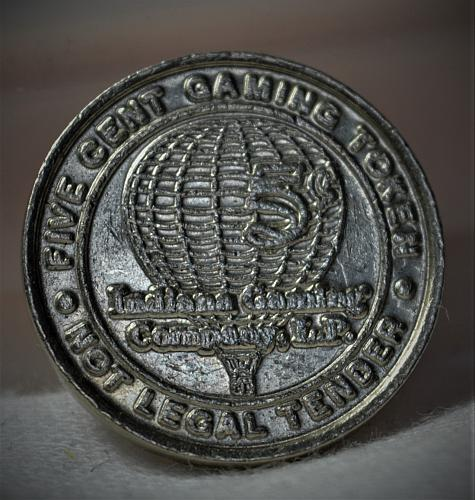 1996 to 2009 5 Cent Gaming Token - Indiana Gaming Company L.P.