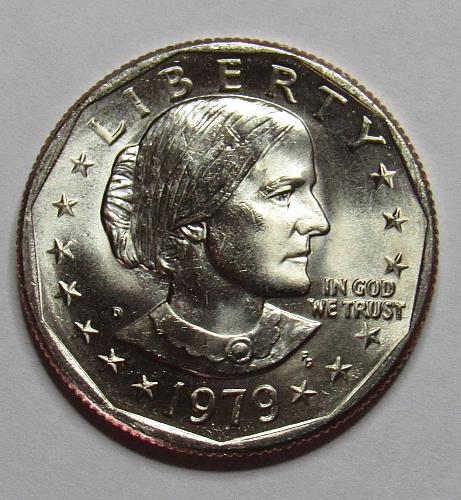 1979 D Susan B Anthony Dollar in BU condition