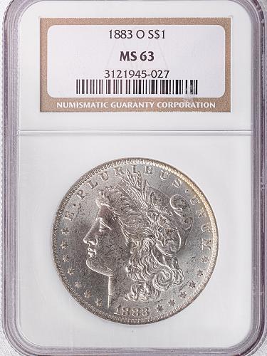 1883 O Morgan Dollar