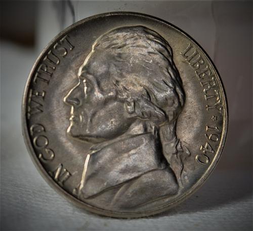 1940 D Jefferson Nickel BU - with 5 FULL STEPS!!