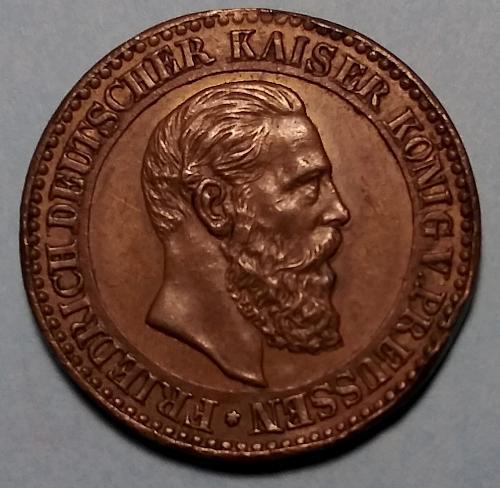 1888 GERMAN FRIEDRICH DEUTSCHER KAISER MEDAL