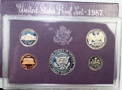 1987 S Proof Set