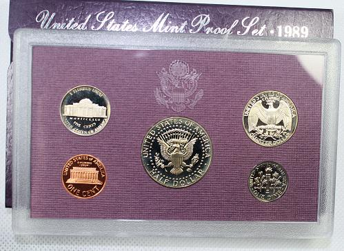 1989 S Proof Set