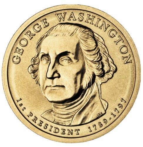 2007 D  GEORGE WASHINGTON  GOLDEN DOLLAR